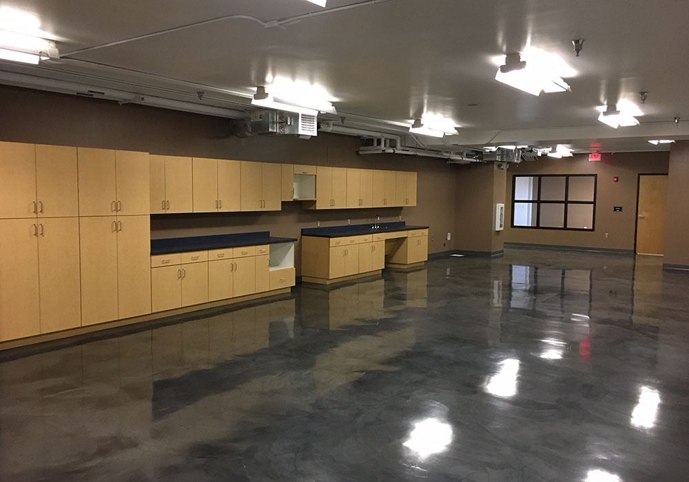 Maintenance Lounge and Nursing Room Improvements